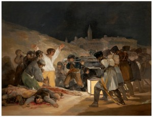 El 3 de mayo en Madrid o ''Los fusilamientos''