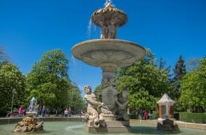 Fuente-Alcachofa-Tour-Parque-del-Retiro-Madrid