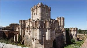 castillo de coca vista noreste